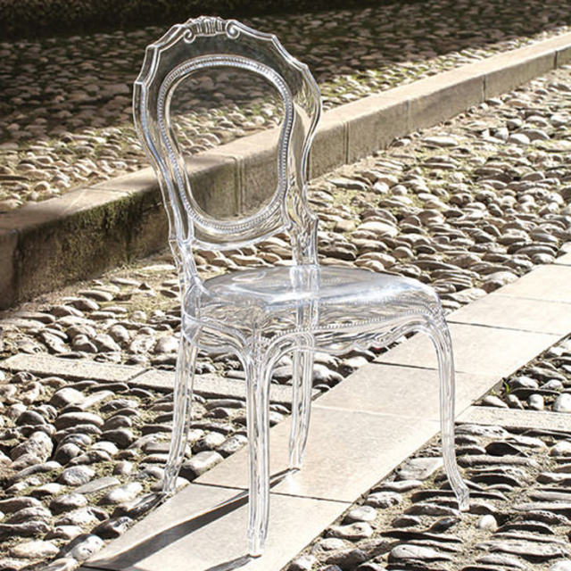 Epoque Chair - Neutro / Clear / アクリリック チェア|Dal Segno Design : イタリア|IB Selection|CAI0003DSD