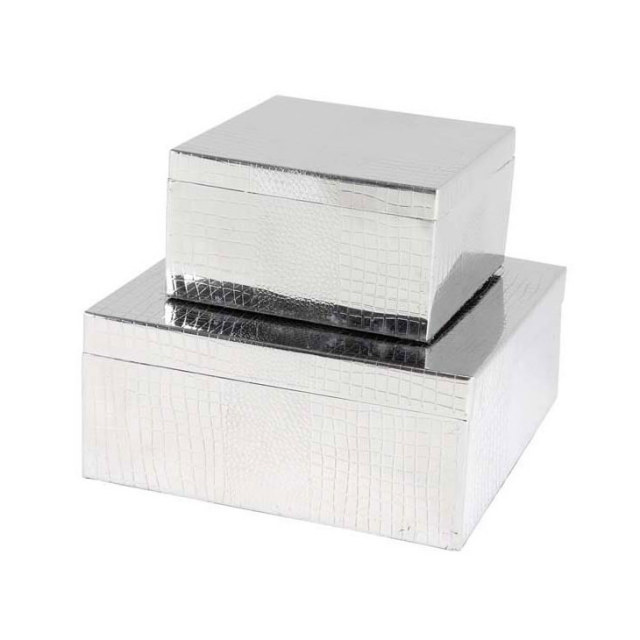 ACCESSORIES - DECO / JEWEL BOX EMMA set of 2/ コンプリメント|EICHHOLTZ / アイシュホルツ : オランダ|CPM0003EHL
