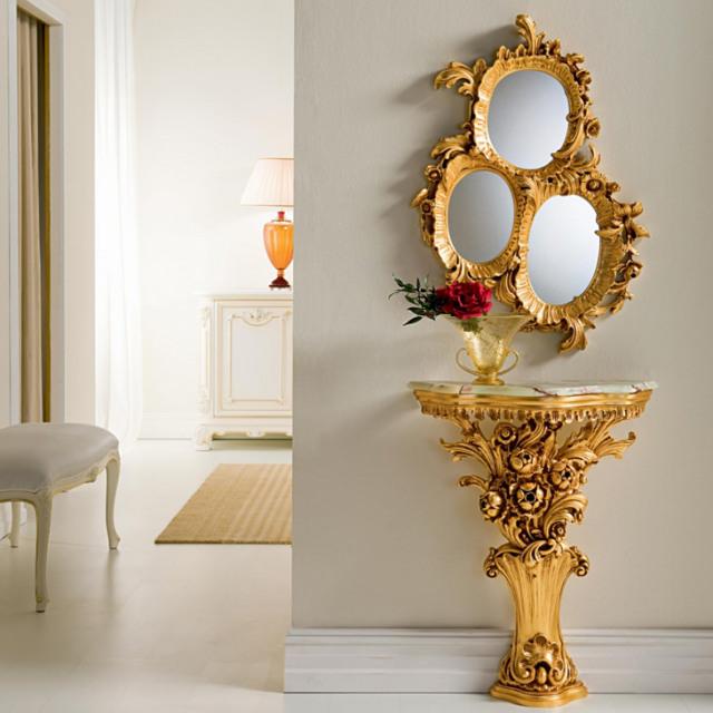 Art.120/121 -  Mirror & Console / SPECCHIERA - コンソール&ミラー|SILIK : イタリア|CSL0004SLK