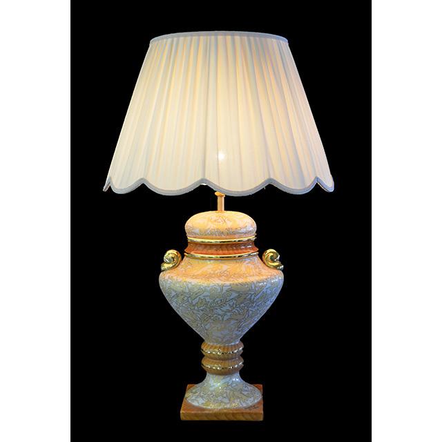 Pottery Lamp / 陶器ランプ | Angela Rigon|イタリア製|LMP0041RGN