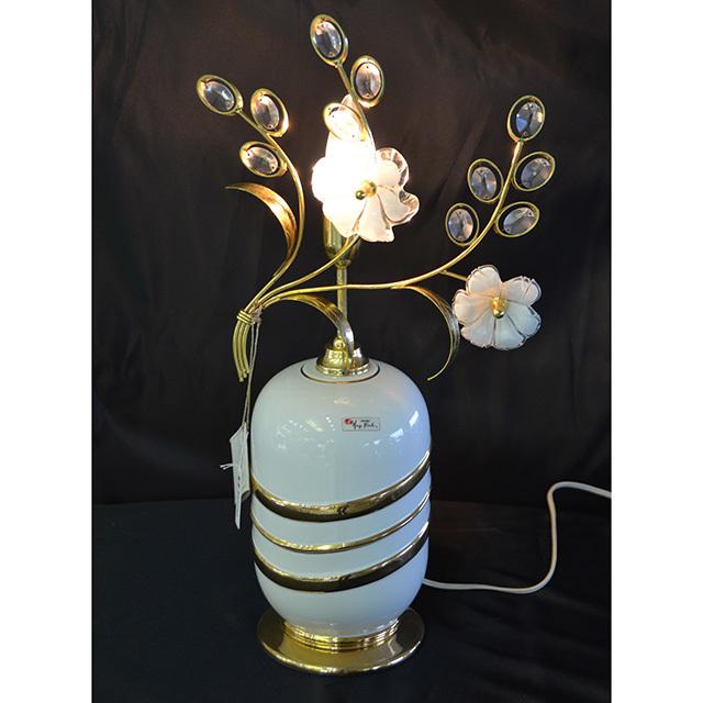 Pottery Lamp / 陶器ランプ |イタリア製|LMP0044IB