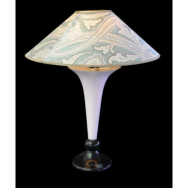 Pottery Lamp / 陶器ランプ|シェード付き|LMP0037IB