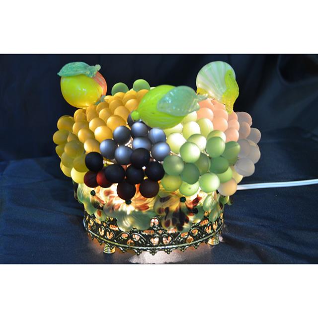 Venetian glass Lamp / ヴェネチアンガラス ランプ|Table Lamp / テーブル ランプ|イタリア製|LMP0036IB