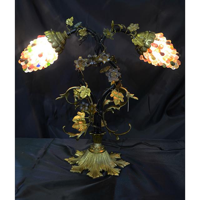 Glass Lamp  / ガラス ランプ|Creation TIEF / ティエフ|フランス製|LMP0046IB
