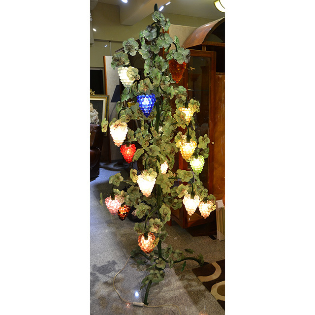 Venice Glass Lamp  / ベネチアンガラス ランプ|葡萄ランプ|IBERIA 特注品|TOSO CESARE / トソ セザーレ|イタリア製|LMP0048IB