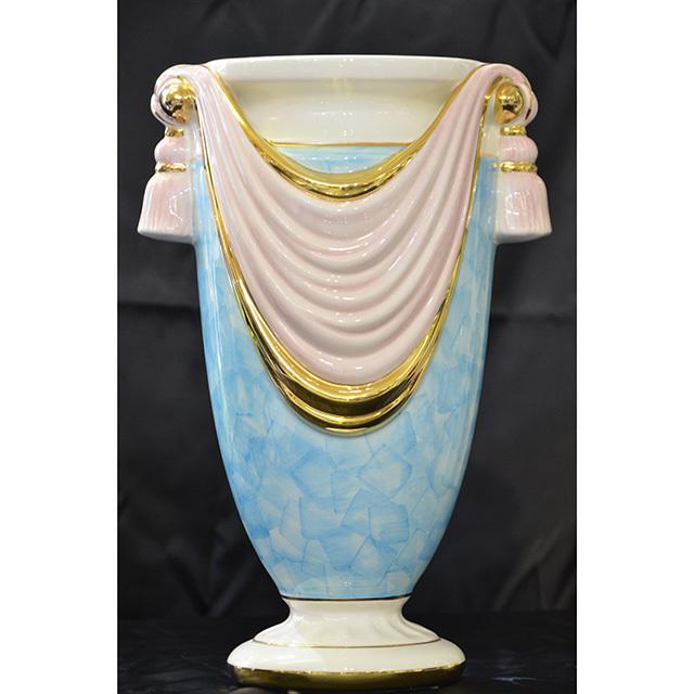 Flower Vase / フラワーベース|ハンドメイド陶器花瓶 壺 |Umbrella stand / 傘立て|Angela Rigon  : イタリア|OBJ0112RGN