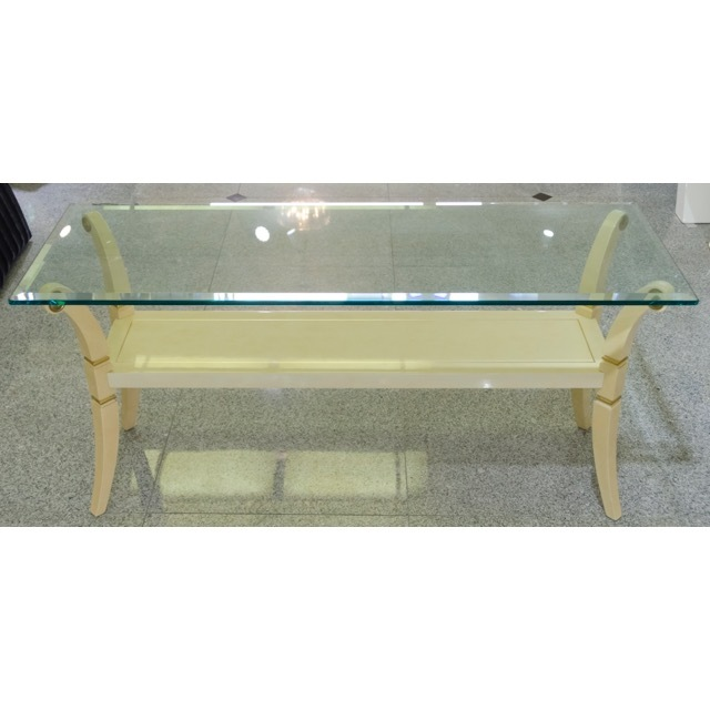 Glass Console Table / ガラス コンソールテーブル |IB Selection|TBL0043