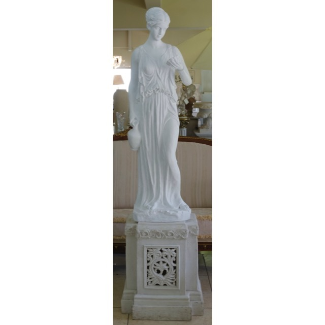 Stone Figure - White / 石像 ホワイト |IBセレクション|HGE0036