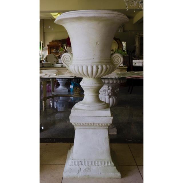 Planter Column Set - White / プランター コラムセット ホワイト / プランター ガーデン コラム ホワイト |IBセレクション|HGE0029