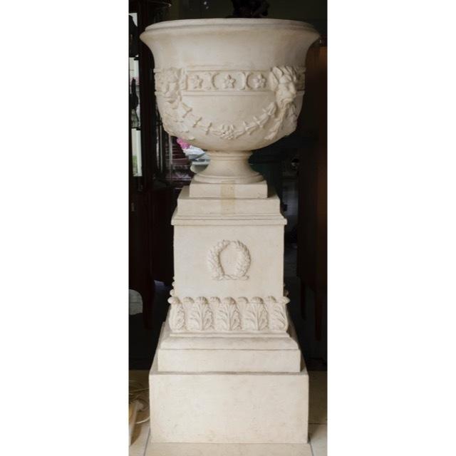 Planter Column Set - White / プランター コラムセット ホワイト / プランター ガーデン コラム ホワイト |IBセレクション|HGE0030