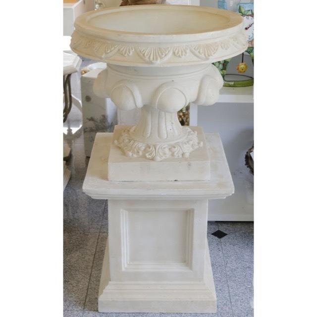 Planter Column Set - White / プランター コラムセット ホワイト / プランター ガーデン コラム ホワイト |IBセレクション|HGE0031