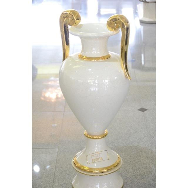 Pottery Flower Vase/Pot Object / ハンドメイド陶器花瓶 壺 |イタリア|Angela Rigon|OBJ0067RGN