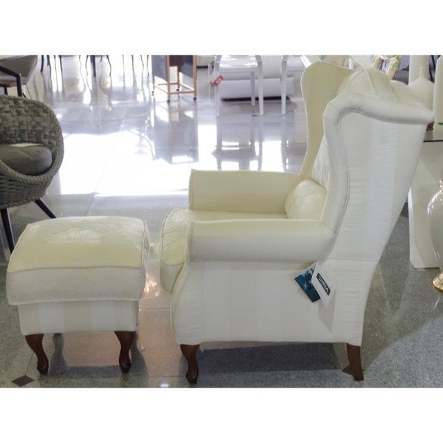Sofa with Ottoman  / オットマン付きソファ|スペイン製|Spain|SF0029
