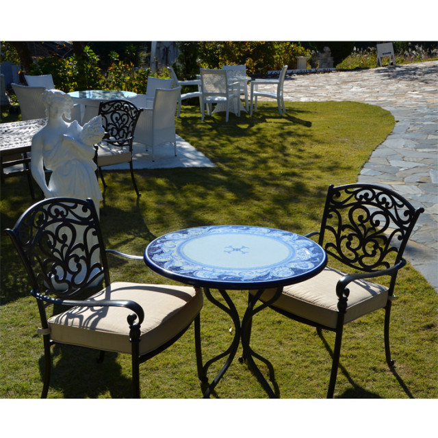 Garden Furniture / Garden Round Table and Chair Sets / ガーデンテーブルセット - 円形 |IBERIA : 別注|HGE0004