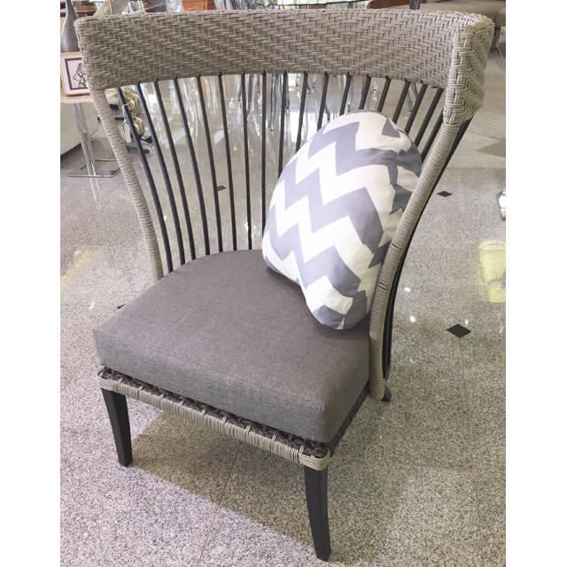 Garden Furniture / Garden Chair / ガーデンチェア単品(低反発クッション付) - ゆったり|IB Selection|HGE0012