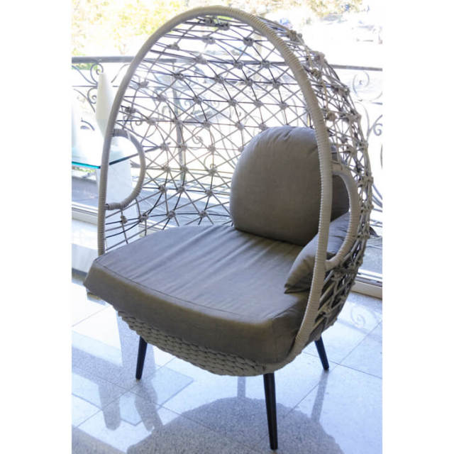 Garden Furniture / Chair / チェア(クッション付) - 球体/たまご型/ゆったり|IB Selection|HGE0016