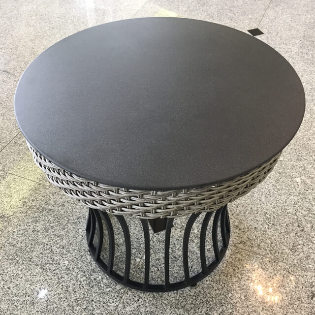 Garden Furniture / Table / ガラストップテーブル - 軽量 / コンパクト|IB Selection|HGE0019