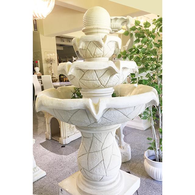 Garden Furniture / fountain / 噴水|ホワイト|回転式|IB Selection|HGE0058