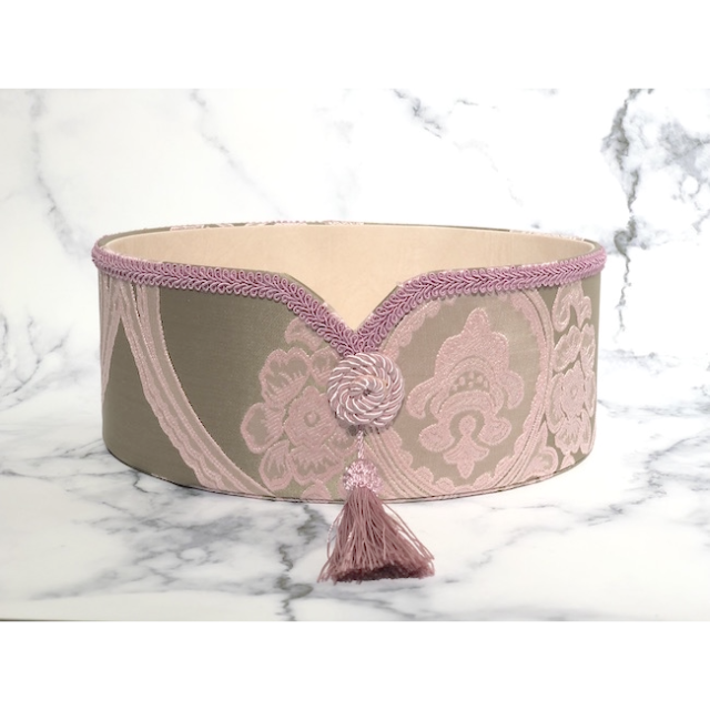 Fabric Goods/ファブリック グッズ|Oval Pink/オーバル小物入れ ピンク|MIS1015IB