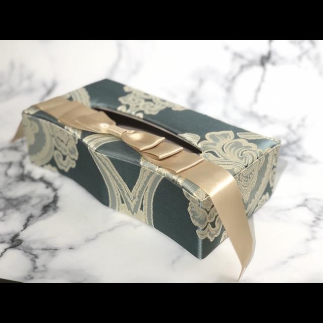 Fabric Goods/ファブリック グッズ|Box Tissue cover Blue/ボックスティッシュカバー ブルー|MIS1020IB