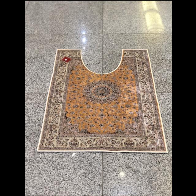 Persian carpet style Toilet mat/ペルシャ絨毯風 トイレマット|Yellow /イエロー 黄色|MIS1037IB