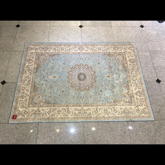 Persian carpet style Rug/ペルシャ絨毯風 ラグ|Light Blue / ライトブルー 水色|MIS1039IB