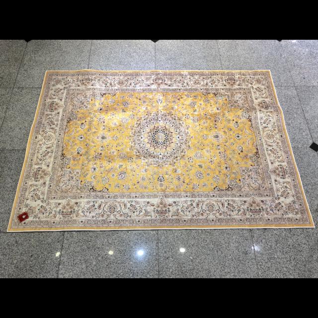 Persian carpet style Rug/ペルシャ絨毯風 ラグ|Yellow / イエロー 黄色|MIS1040IB