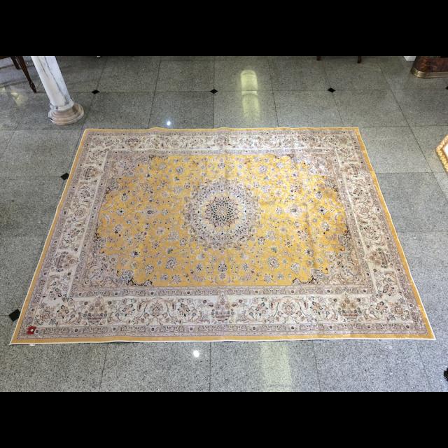Persian carpet style Rug/ペルシャ絨毯風 ラグ|Yellow / イエロー 黄色|MIS1043IB