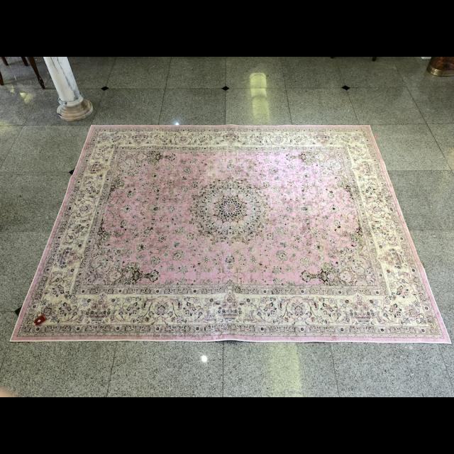 Persian carpet style Rug/ペルシャ絨毯風 ラグ|Pink / ピンク|MIS1042IB