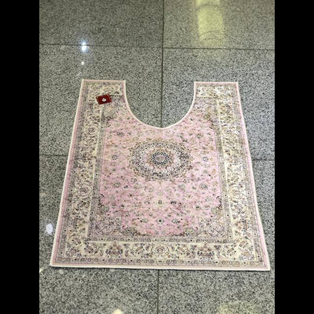 Persian carpet style Toilet mat/ペルシャ絨毯風 トイレマット|Pink / ピンク|MIS1035IB