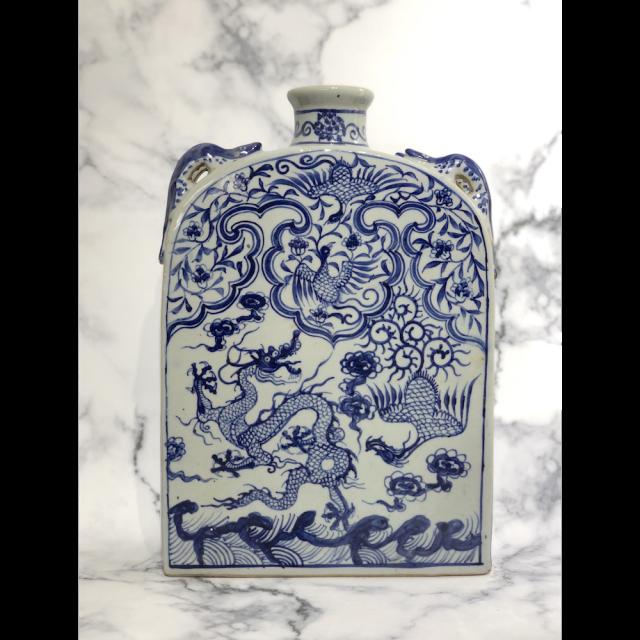 Flower base / フラワーベース 花瓶 壺|OBJ1011IB