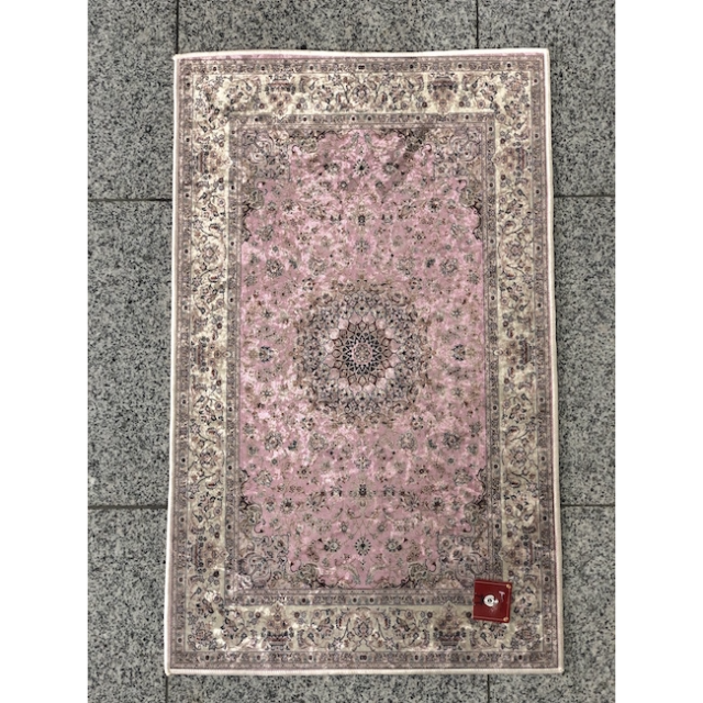 Persian carpet style Entrance mat /ペルシャ絨毯風 玄関マット|Pink / ピンク|MIS1005IB
