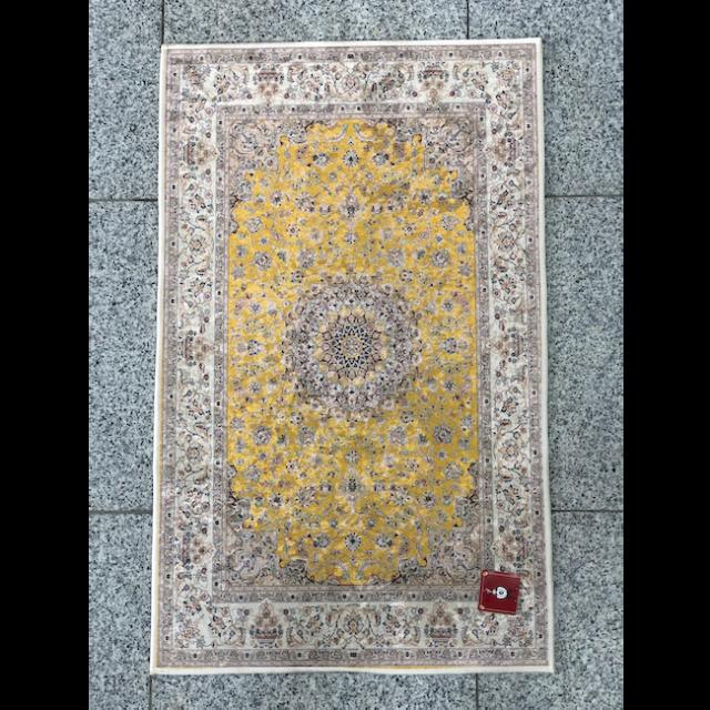Persian carpet style Entrance mat /ペルシャ絨毯風 玄関マット|Yellow / イエロー 黄色|MIS1010IB