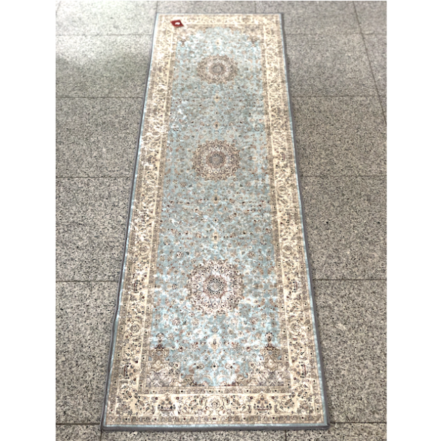 Persian carpet style Kitchen mat /ペルシャ絨毯風 キッチンマット|Light Blue / ライトブルー 水色|MIS1013IB