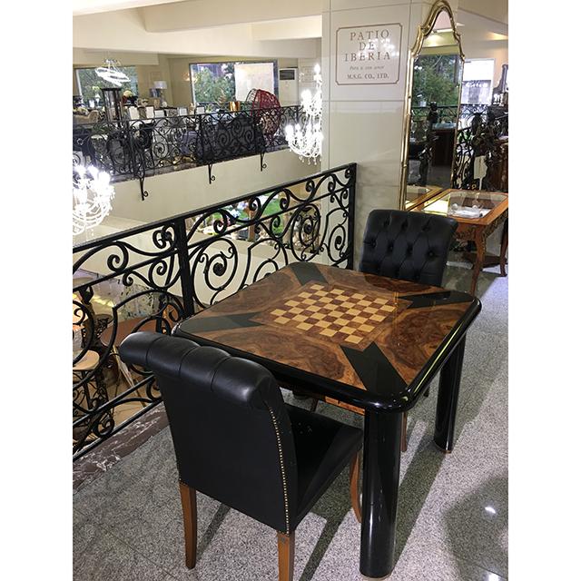 イタリア製|game Table For 3 Set  / ゲームテーブル 3点セット|チェスボード| IB Selection|DNG0060IB