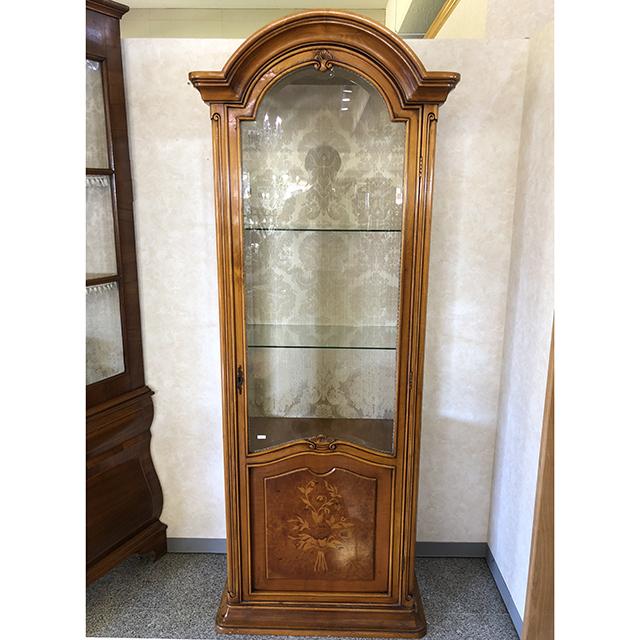 イタリア製|ストレートキャビネット|飾り棚|三面ガラス|IB Selection|SRE0087IB
