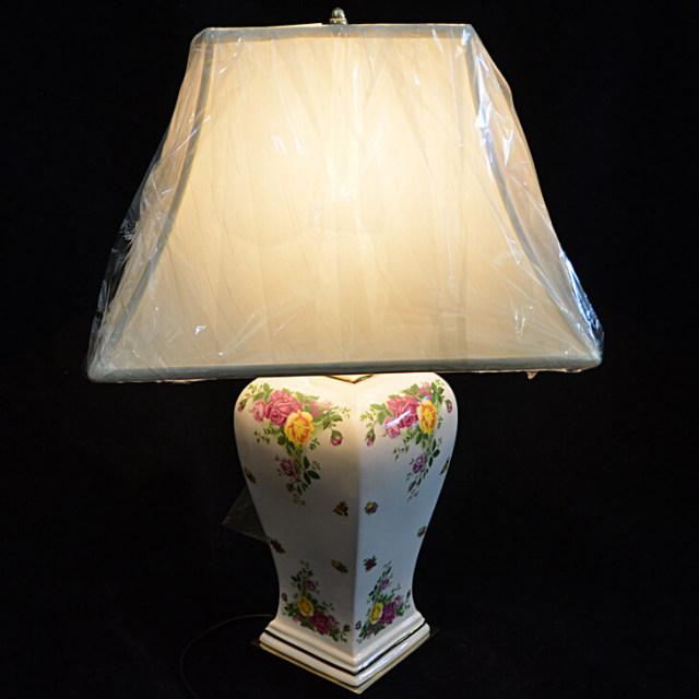 Pottery Lamp / 陶器ランプ|LMP0006