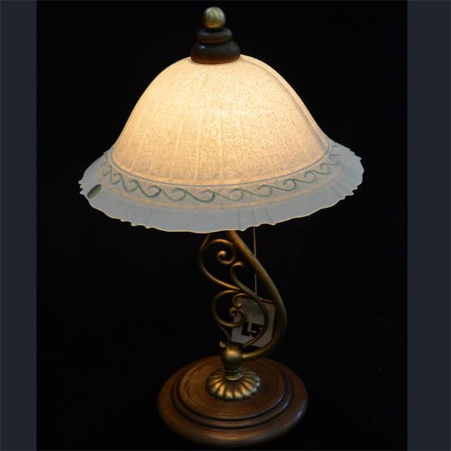 Woody Glass Lamp -  / ガラス・木 - ランプ|LMP0010
