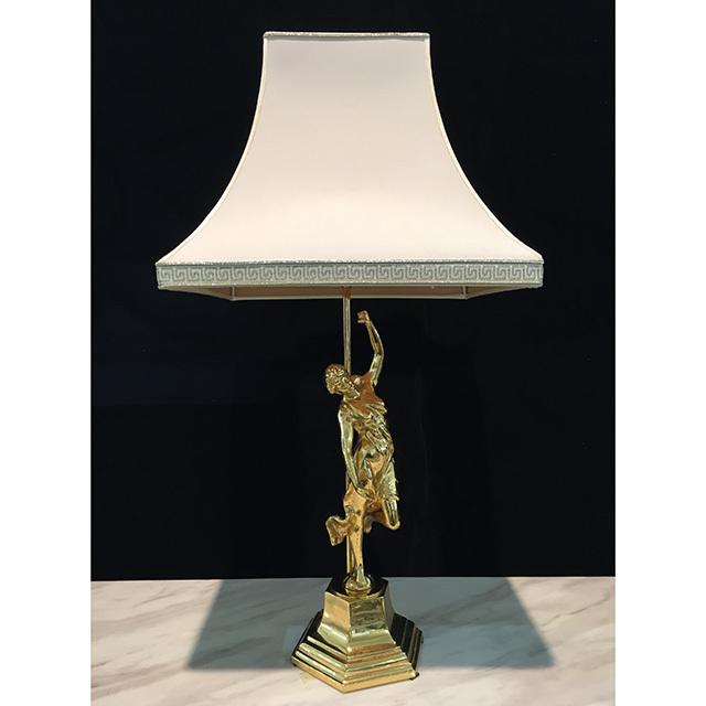 Lamp/ランプ|シェード付き|ゴールドカラー|人型|LMP0030IB