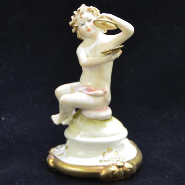 Pottery / Object / 陶器 オブジェ |VILLARI : イタリア|OBJ0036VLR