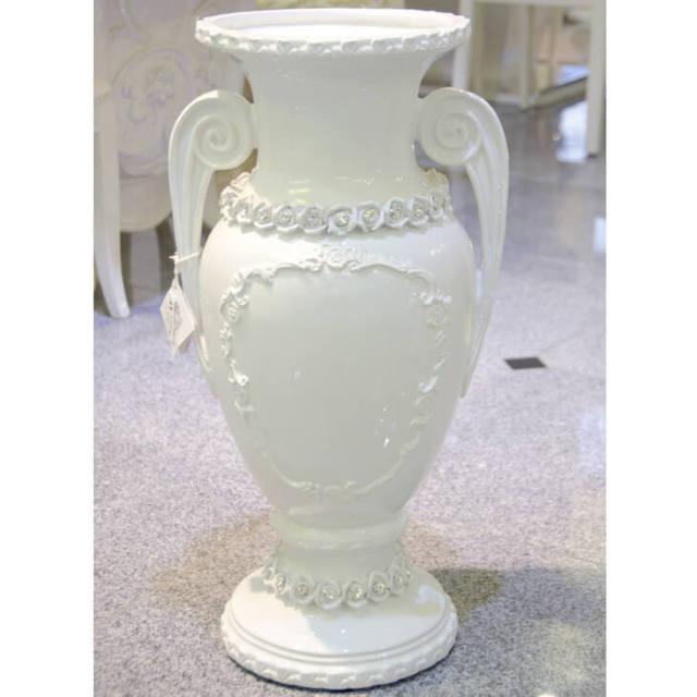 ハンドメイド陶器フラワーベース|IB Selection|OBJ0053