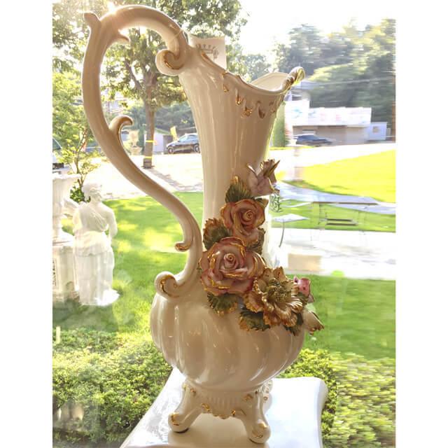 Pottery / Object / ハンドメイド陶器フラワーベース |Sonda:イタリア|IB Selection|OBJ0056