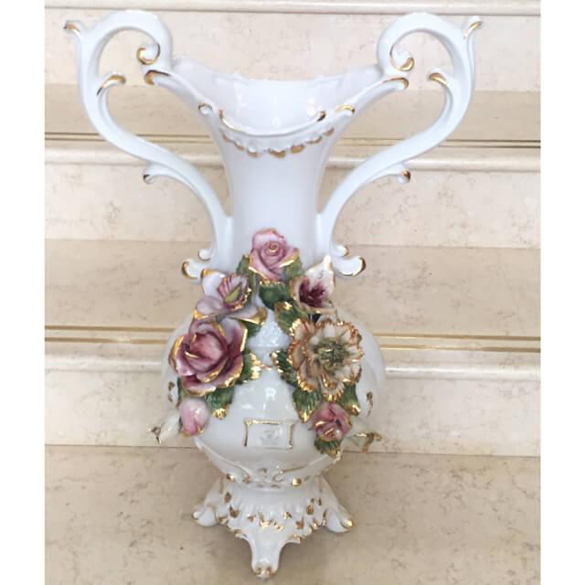 Pottery / Object / ハンドメイド陶器フラワーベース |Sonda:イタリア|IB Selection|OBJ0060