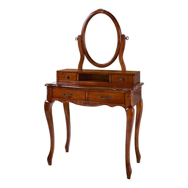 Dresser / ドレッサー|円形ミラー|Fiore|CSL0066FOR