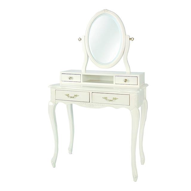 Dresser / ドレッサー|円形ミラー|Fiore|CSL0067FOR