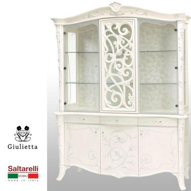 Giulietta - 3D Cabinet / ジュリエッタ 鏡面塗装 3D キャビネット|Saltarelli : イタリア|SRE0003SRL