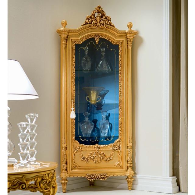 ART.520 - Corner Cabinet / VETRINETTA - コーナーキャビネット|SILIK : イタリア|SRE0012SLK