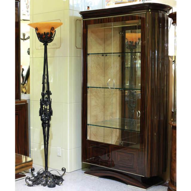 Cabinet / 木目調 鏡面仕上げ キャビネット - イタリア製|IB Selection|SRE0024