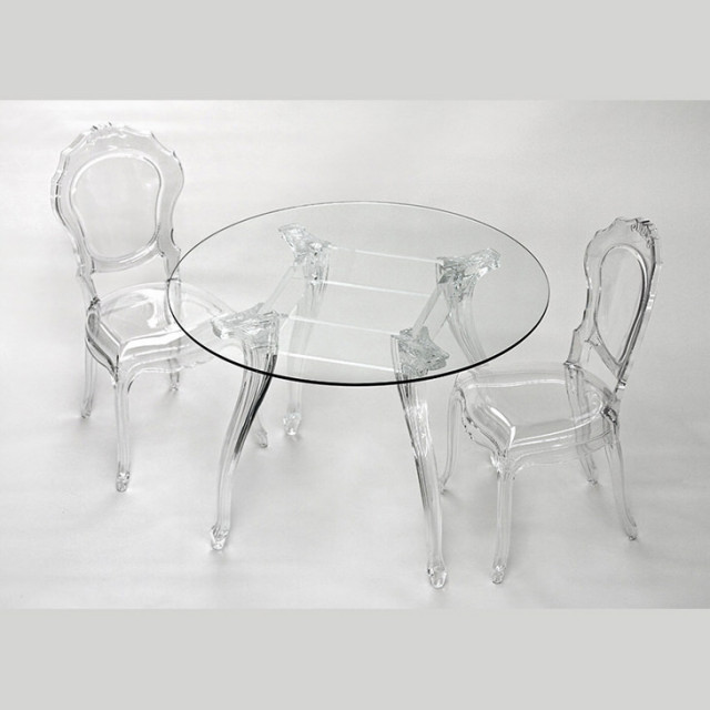 Round Epoque table / アクリリック テーブル|Dal Segno Design : イタリア|IB Selection|TBL0003DSD