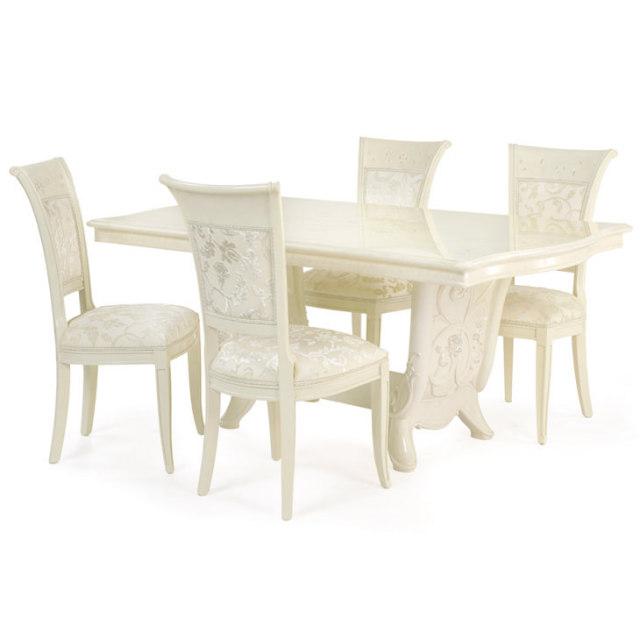 Giulietta - Dining Table / ジュリエッタ 鏡面仕上げ ダイニングテーブル|Saltarelli : イタリア|TBL0010SRL